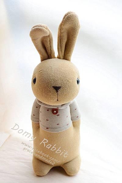 襪子娃娃359號點點T褐色多米兔.jpg (1)