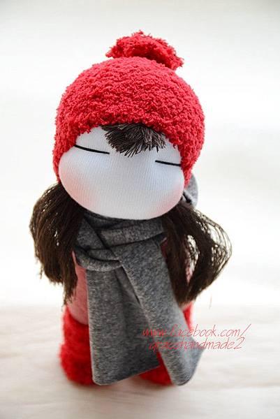 襪子娃娃364號紅靴女孩