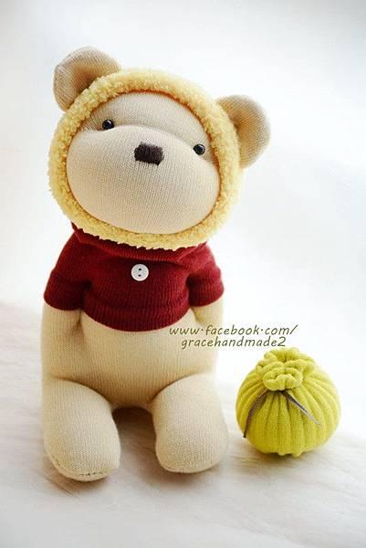 襪子娃娃366黃蜂蜜熊 (1)