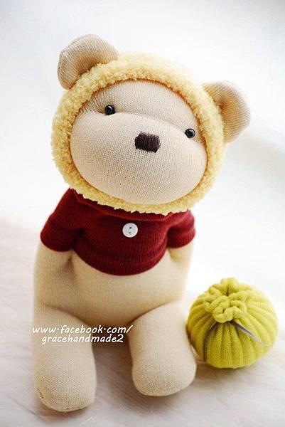 襪子娃娃366黃蜂蜜熊 (2)