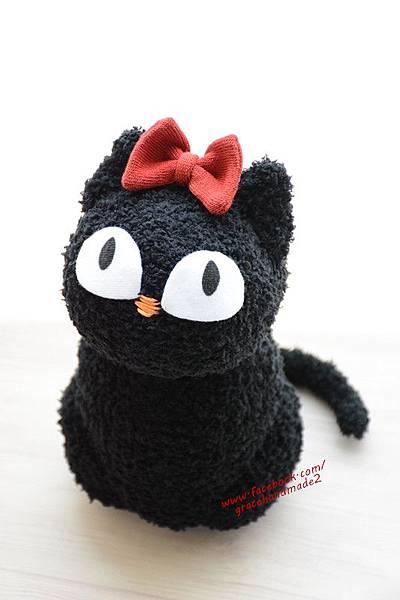 襪子娃娃379號黑貓 (4)
