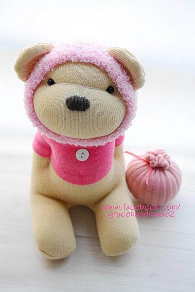 襪子娃娃387號春季蜂蜜熊