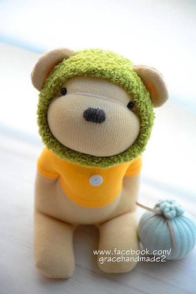 襪子娃娃388號夏季蜂蜜熊