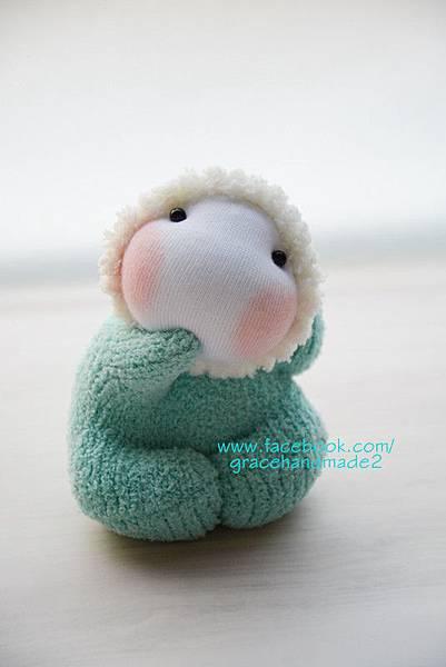 襪子娃娃391號龍鳳小貝比