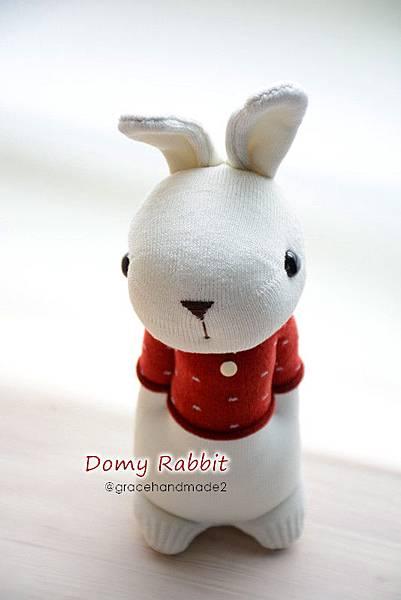 襪子娃娃396號T恤多米兔 (1)