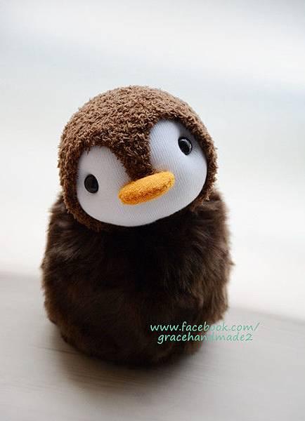 襪子娃娃399號企鵝寶包(客訂)