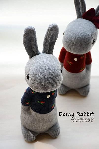 襪子娃娃404+405號T恤多米兔對偶 (3)