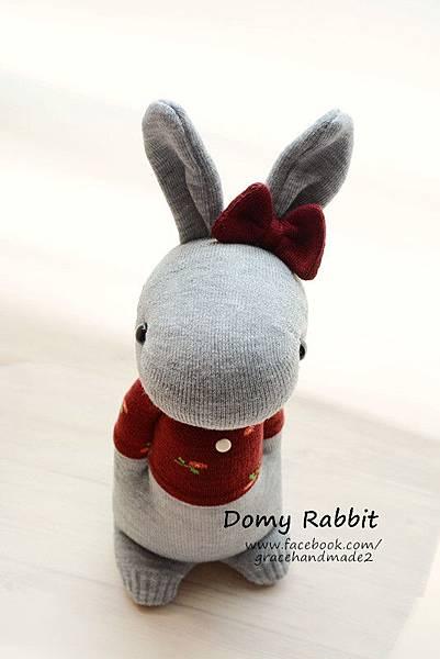 襪子娃娃405號T恤多米兔 (2)