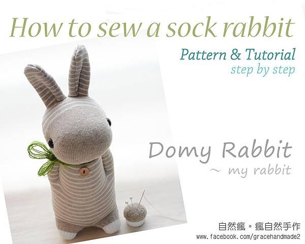 多米兔襪子娃娃教學電子書(英文版)