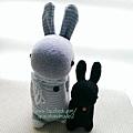 襪子娃娃413號迷你多米兔 (1)1
