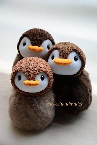 襪子娃娃422+423+424號企鵝寶包1