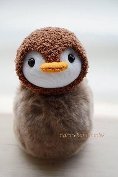 襪子娃娃422號企鵝寶包1