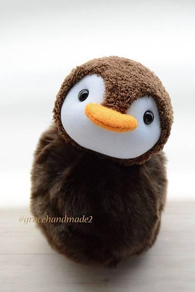 襪子娃娃423號企鵝寶包1