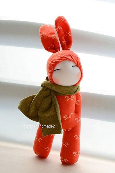 襪子娃娃426號兔裝女孩 (2)1