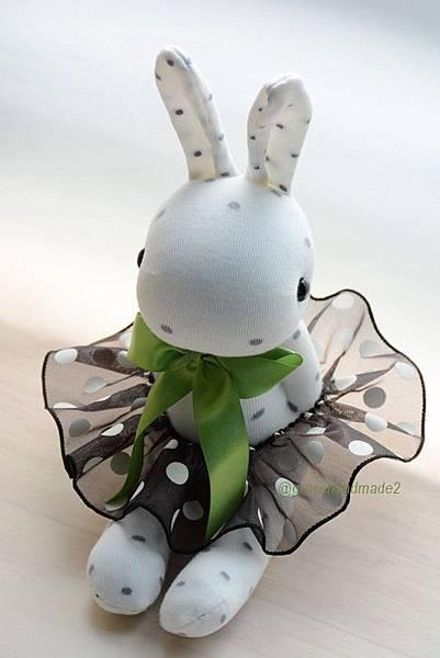 襪子娃娃464號點點兔 (1)