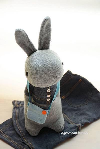 襪子娃娃490號二手衣多米兔