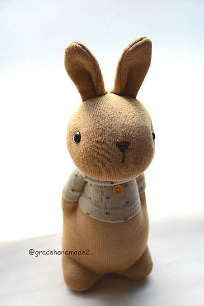 襪子娃娃497號點點米T多米兔 (1)