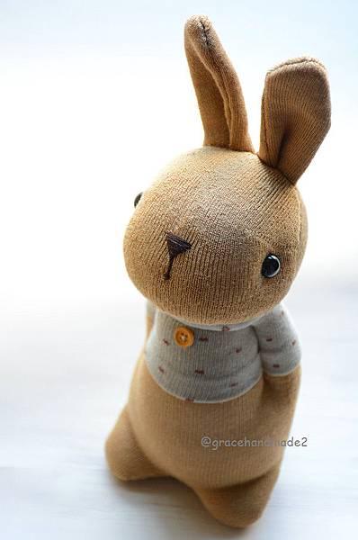 襪子娃娃497號點點米T多米兔 (6)