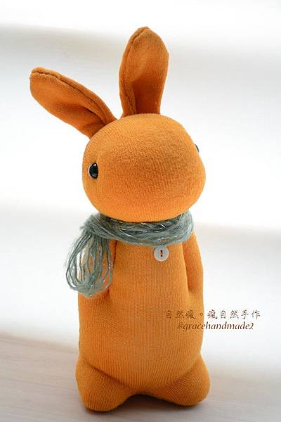 襪子娃娃506號芒果多米兔 (3)