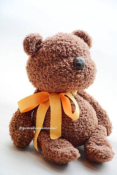 襪子娃娃531號塔比棕熊