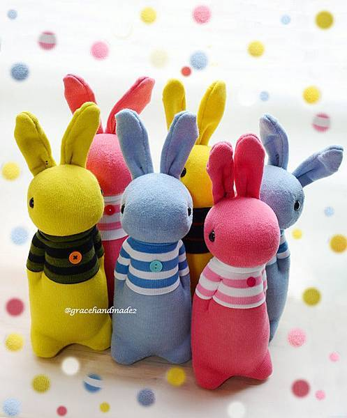 襪子娃娃535+536+537+538+539+540號T恤多米兔
