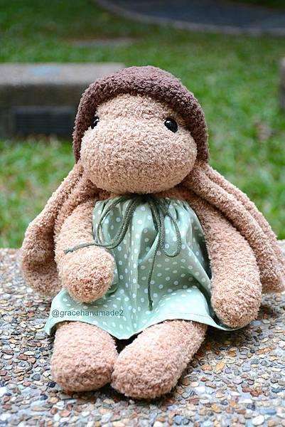 襪子娃娃555號垂耳兔1000-31