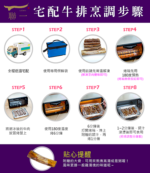 冷凍牛排食用步驟
