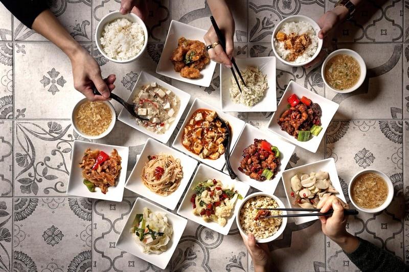 美食街吃紅廚川味桌菜-2