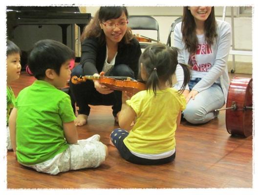 ﹝3Y9M3W3D﹞暢遊音樂王國 第一堂『小提琴與大提琴』@音樂理想國 (5)