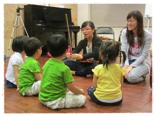 ﹝3Y9M3W3D﹞暢遊音樂王國 第一堂『小提琴與大提琴』@音樂理想國 (6)