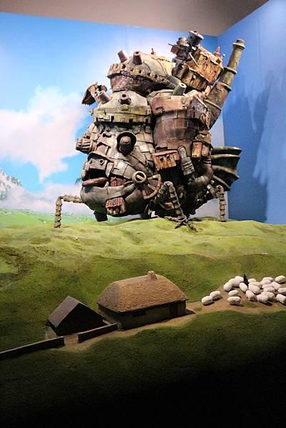 1)霍爾的移動城堡 -grace媽媽-吉卜力的動畫世界特展 (2).JPG