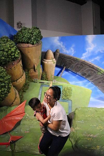 2)天空之城-grace媽媽-吉卜力的動畫世界特展2 (1).JPG
