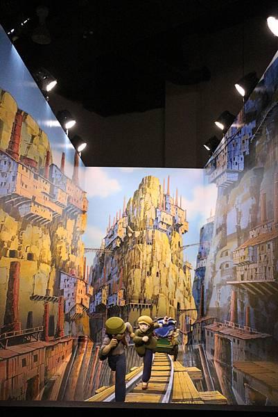 2)天空之城-grace媽媽-吉卜力的動畫世界特展 3(1).JPG