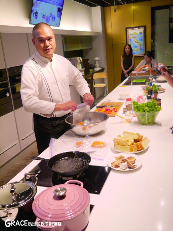義大利進口best貝斯特時尚廚電-台北廚房家電-實驗廚房體驗-崁入式及獨立式洗碗機-快洗27分鐘省70%水量-可以洗鍋子烤盤-做家事利器分享-grace媽媽 (48).jpg