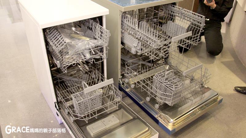 義大利進口best貝斯特時尚廚電-台北廚房家電-實驗廚房體驗-崁入式及獨立式洗碗機-快洗27分鐘省70%水量-可以洗鍋子烤盤-做家事利器分享-grace媽媽 (7).jpg