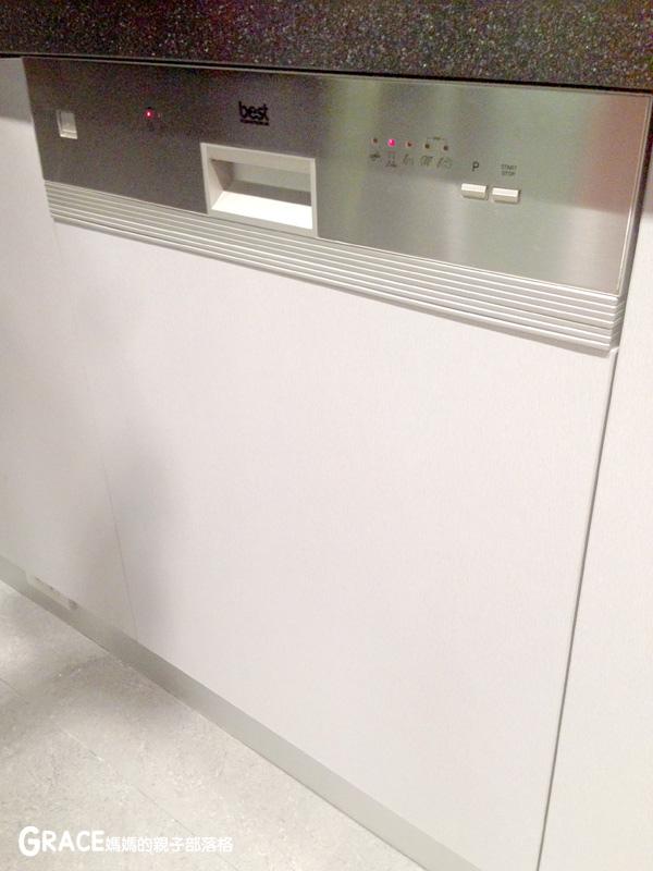 義大利進口best貝斯特時尚廚電-台北廚房家電-實驗廚房體驗-崁入式及獨立式洗碗機-快洗27分鐘省70%水量-可以洗鍋子烤盤-做家事利器分享-grace媽媽 (39).jpg