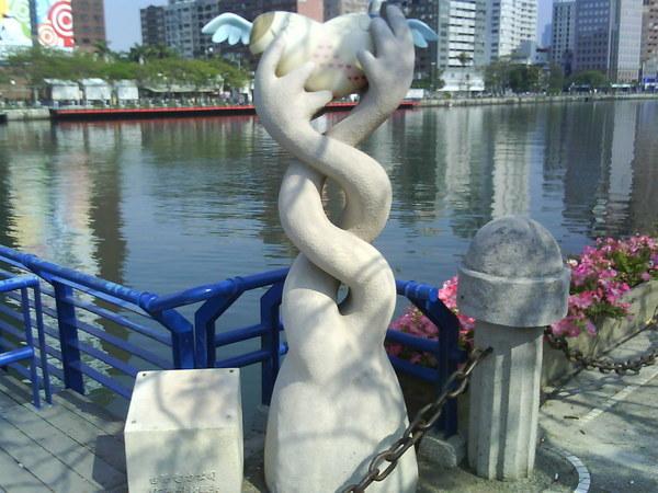 可愛的雕塑