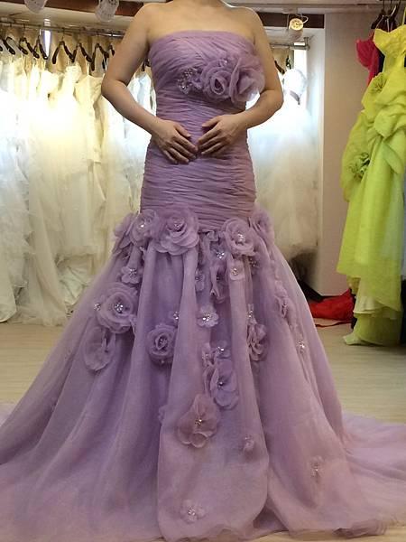 手工婚紗出租-推薦1+1禮服工作室