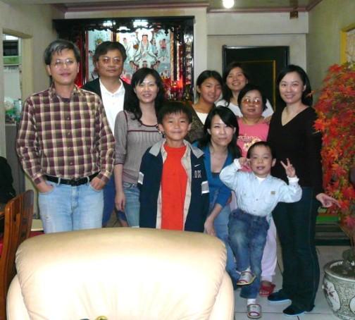 20070221 全家到齊~過年囉~~