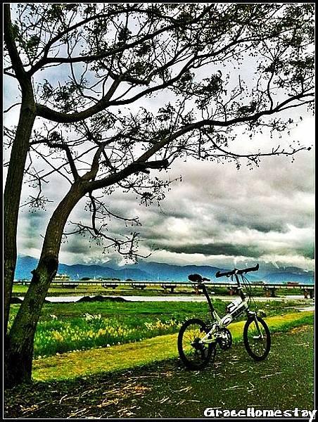 羅東運動公園~自行車專用道~往東~我是羅東民宿葛瑞絲~