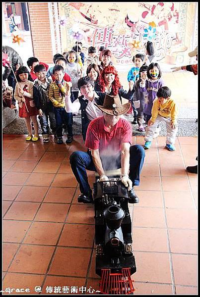 1 傳藝兒童節蒸汽小火車啟動