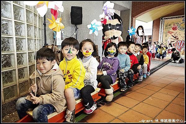 1 傳藝兒童節蒸氣小火車小