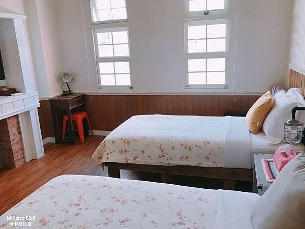 1042米卡洛 雙床雙人套房 宜蘭民宿