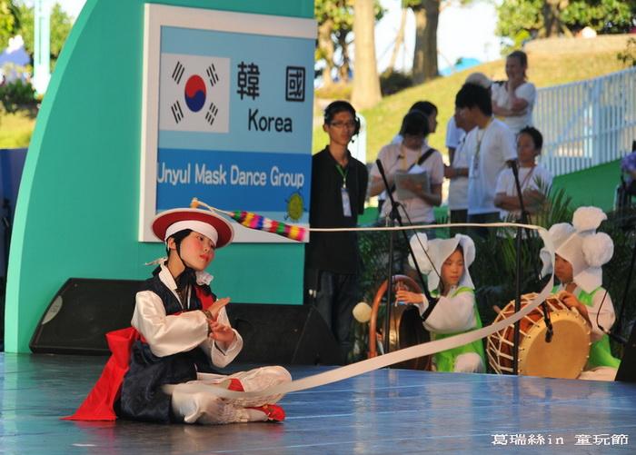 2010宜蘭童玩節~韓國的表演