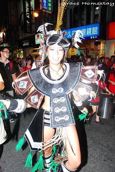 2009羅東藝穗節踩街~羅東民宿葛瑞絲