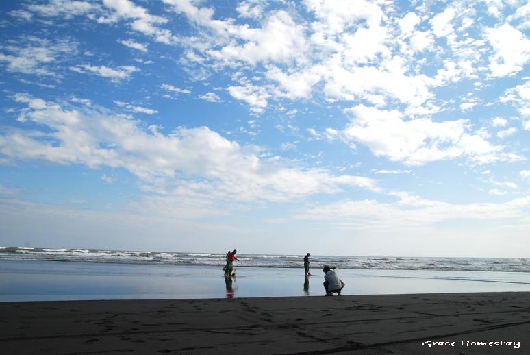 宜蘭旅遊~羅東民宿葛瑞絲去海邊