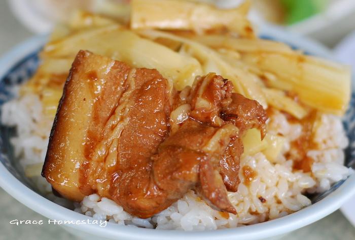羅東復興路小店美食火空肉飯
