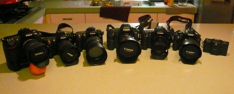 葛瑞絲之相機大集合