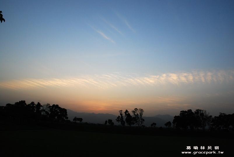 羅東民宿葛瑞絲看到的天上的雲