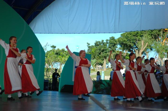 2010宜蘭童玩節~芬蘭的表演團隊~